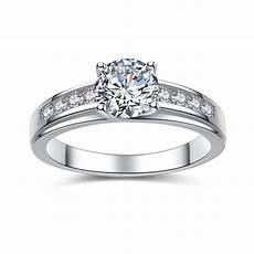 925 sterling silver cubic zirconia 0 93 ct cut s engagement ring devuggo com
