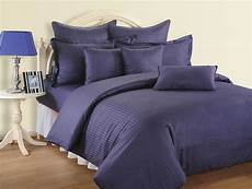 4 pcs sateen 500tc queen cotton stripy duvet quilt cover fitted bed sheet ebay