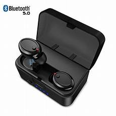 Bluetooth True Wireless Earphone Ipx8 Waterproof by 2019 Version Tws Bluetooth 5 0 Earbuds True Wireless