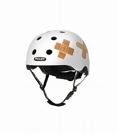 melon plastered white helmet matte