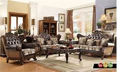Wohnzimmer Vintage Look - ornate antique style provincial traditional brown