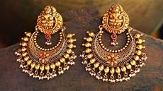 22 k gold chandbali earrings designs youtube
