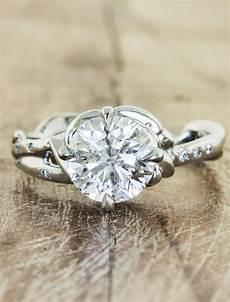 daya sculptural engagement ring ken design daya sculptural diamond engagement ring ken design