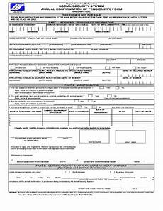 2013 2018 form ph sss annual confirmation of pensioner s form fill online printable fillable