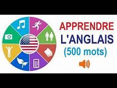apprendre l anglais 500 mots