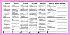 year 5 correct the spelling mistakes worksheets spelling editing