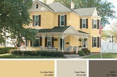 pale gold exterior paint idea in 2019 house exterior color schemes exterior color schemes