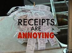 keeping track of receipts for your small business is very important it keeps you organized
