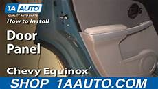 how to install repair replace rear door panel buick lesabre 00 05 1aauto com youtube how to install replace rear door panel chevy equinox 05 09 1aauto com youtube