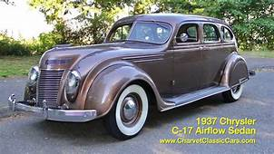 1937 Chrysler Airflow For Sale Charvet Classic Cars  YouTube