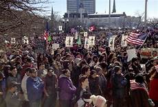 thousands protest milwaukee county sheriff s immigration
