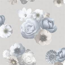 flower wallpaper grey floral wallpaper muriva 1425 murivamuriva