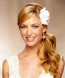 hairstyles popular 2012 latest side ponytail hairstyle picture