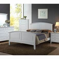 contemporary whiskey white finish 1pc full size bed for bedroom furniture set ebay