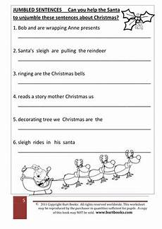 christmas theme jumbled sentences by coreenburt teaching resources