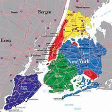 karte new york city poster bestellen