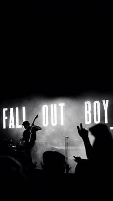 Band Home Screen Wallpaper by Fall Out Boy Lock Screen