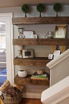 regal ideen wohnzimmer simple diy floating shelves tutorial decor ideas