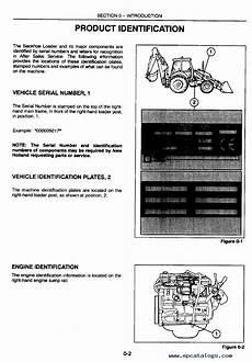 ford 555 fuse box new 575e 655e 675e service manual pdf