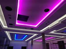led decke decke mit wandleisten f 252 r led rgb strips with images
