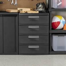 Sterilite 4 Drawer Cabinet Storage Organizer Heavy Duty