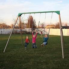 metal swing sets lifetime 10 foot metal swing set earthtone 290038