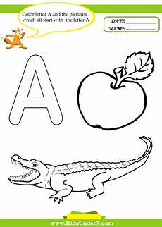 three letter worksheets for kindergarten 23540 7 letter a worksheets and coloring pages alphabet coloring pages coloring