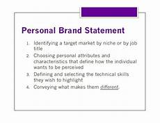 related image personal brand statement personal branding career planning