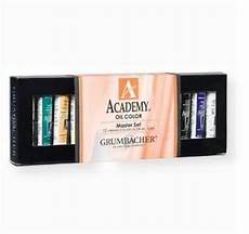 grumbacher aos1224 academy paint 12 color quality
