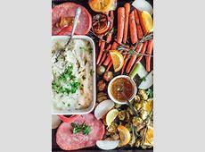 Sheet Pan Christmas Ham Dinner For Two   Imagelicious.com