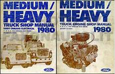 ford lts 9000 wire diagram 1972 truck 1980 ford medium heavy truck original service specifications book