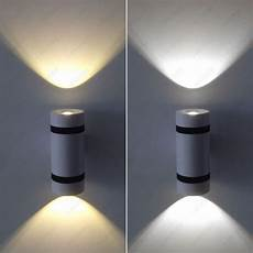 dimmable n 6w led cob light up down wall fixture l bedroom lobby corridor bar ebay