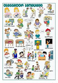 classroom language picture dictionary worksheet free esl printable worksheets made by teachers