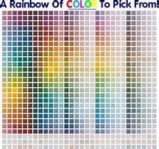 color chart auto paint search auto paint color