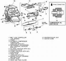 automobile air conditioning service 1986 mitsubishi galant on board diagnostic system repair guides heating and air conditioning heater core autozone com