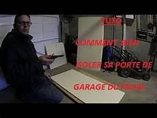 tuto comment bien isoler sa porte de garage du froid