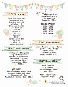 Cooking Equivalents Flour by Must Useful Measurement Conversions For Your