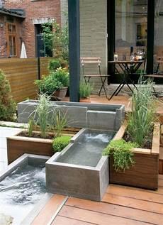 fontaine de terrasse 1001 ideen und gartenteich bilder f 252 r ihren traumgarten