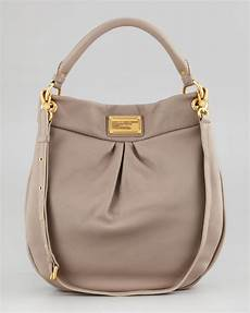 lyst marc by marc classic q hillier hobo bag in