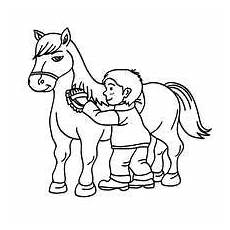 brushing coloring pages hellokids