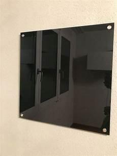 glas magnetwand magnetwand schwarz aus glas 50x50 kaufen auf ricardo