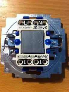 lichtschalter mit kontrollleuchte lichtschalter mit kontrollleuchte aber nur zwei kabel