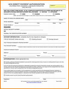10 ach payment form template sles of paystubs