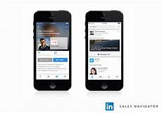 linked in mobile linkedin sales navigator goes mobile and adds redesigned