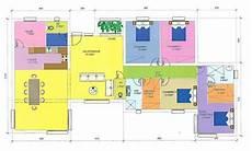 plan d intérieur de maison plan d architecte de maison moderne gratuit
