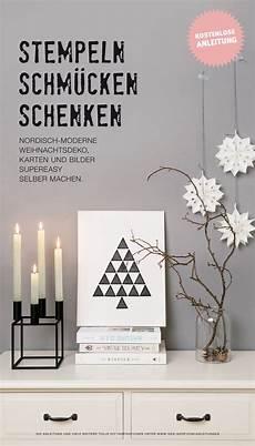 gestaltet nordisch moderne weihnachtsdeko