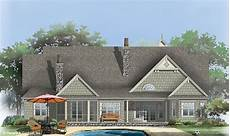 sagecrest house plan the sagecrest house plan rear color with images