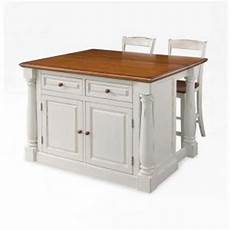 Kitchen Islands With Seating For 4 For Sale home styles monarch white kitchen island with seating 5020