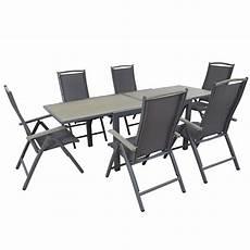table et chaise de jardin solde table et chaise d ext 233 rieur 6 places mobeventpro
