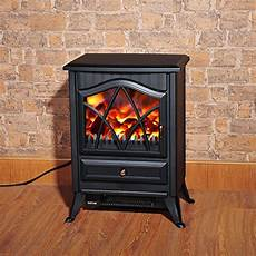 Indoor Heater Fireplace by Homcom 1850w Log Burning Effect Stove Heater